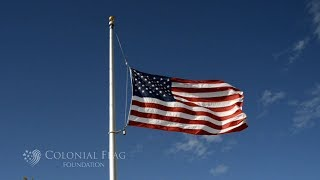 Etiquette for Flying the Flag at Half Staff