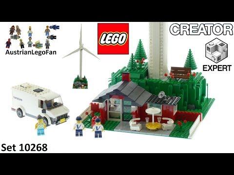 Vidéo LEGO Creator 10268 : L'éolienne Vestas