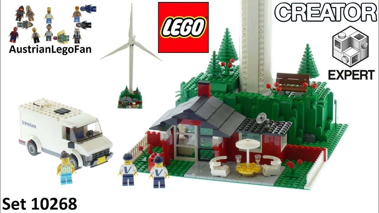 Lego Creator 10268 Vestas Wind Turbine - Lego Speed Build Review