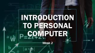 Introduction of personal computer
