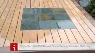 PVC Deck Stone Inlay