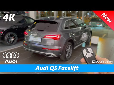 Audi Q5 S Line 2021 - FULL In-depth review in 4K | Exterior - Interior - Infotainment (Facelift)