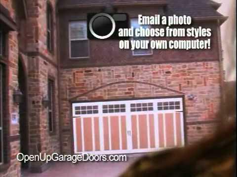 Open Up Garage Doors