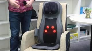 NAIPO Full Back Massage Seat Cushion With Heat MGM-C11C [2016 Version]