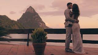 Most EPIC Caribbean Destination Wedding EVER // Humming Bird Beach - Soufriere, Saint Lucia