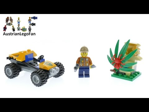 Vidéo LEGO City 60156 : Le buggy de la jungle