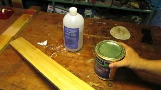 [Thử nghiệm lần 2] Sơn gỗ bóng gương không cần lót, siêu nhanh siêu tiết kiêm
