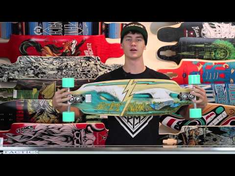Sector 9 Shoots 33.5″ Bamboo Sidewinder Complete Longboard Review – Tactics.com