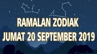 Ramalan Zodiak Jumat 20 September 2019