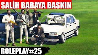 GTA 5 ROLEPLAY #25 SALİH BABANIN MAHALLEYİ BASTILAR | YÜREK YEMİŞLER !!