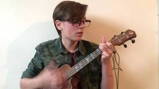 Leave before the lights come on - Arctic Monkeys uke cover