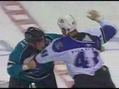 Raitis Ivanans vs Jody Shelley