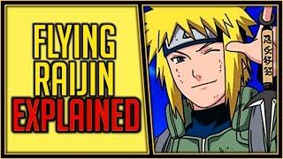 Explaining the Flying Raijin Jutsu