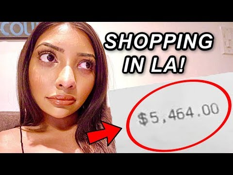 how i helped boost the US economy. i went SHOPPING!