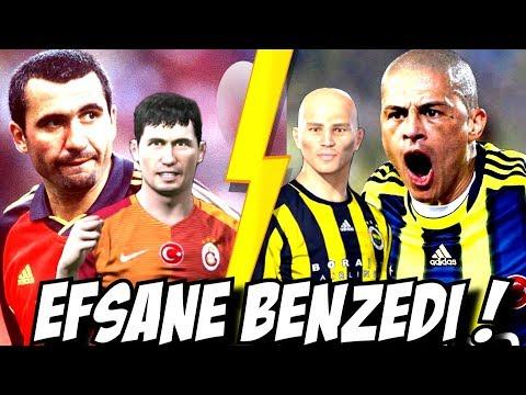 11 TANE ALEX DE SOUZA VS 11 TANE HAGI ! Efsane Maç !