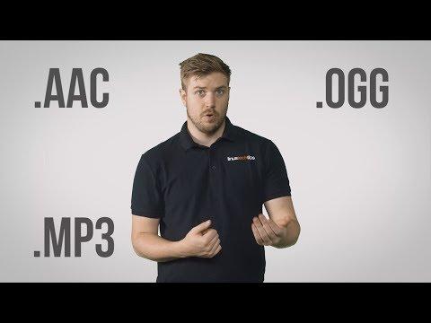 Audio File Formats - MP3, AAC, WAV, FLAC