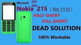 Nokia 215 220 Mic solution success full danish mobile pk