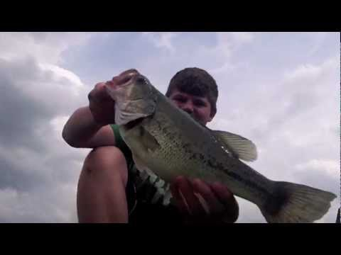 Bass Fishing In Local Ponds