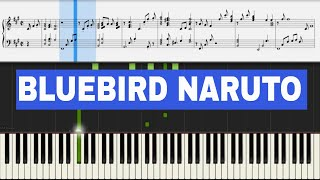 Naruto Shippuuden OP3   Blue Bird   Piano Sheet Music