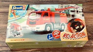 Revell Control ferngesteuertes Feuerwehrauto für Kinder - Test & Unboxing des RC Bausatzes