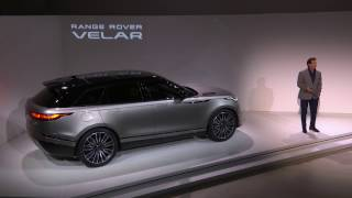 The New Range Rover Velar – Live Reveal From the Design Museum, London