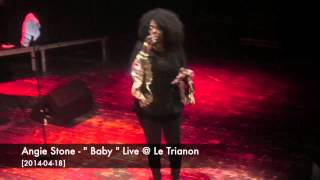 """Angie Stone - """" Baby """" Live @ Le Trianon [2014-04-18]"""