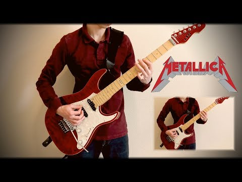 Metallica - Seek and Destroy Full Guitar Cover (ESP LTD Elite ST-1)