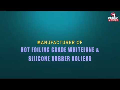 Hot Foil Stamping Silicon Roller