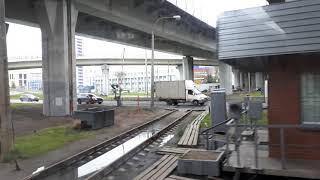 Пересечения Ржд с трамвайными путями и КАД