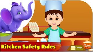Kitchen Safety Rules | Safety Rule Songs | 4K | Appu Series