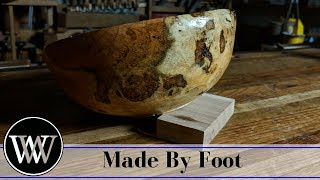 Turning A Bowl On A Spring Pole Lathe With William Walker