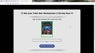 Total War Warhammer II CD Key Serial Download Steps of PC [ No Charge]