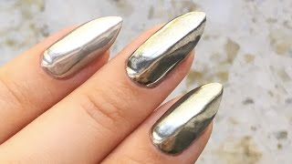 Mirror nails - lustrzane paznokcie z chrome effect! ♡ Red Lipstick Monster ♡