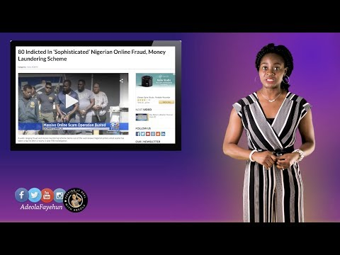 Fraudsters Dent Nigeria's Image; Gambian President Eats With $41,000; Gabon President; Dino Melaye