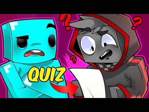 I Forced BadBoyHalo To Take a Skeppy Themed Quiz...