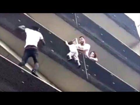 Spiderman als Lebensretter