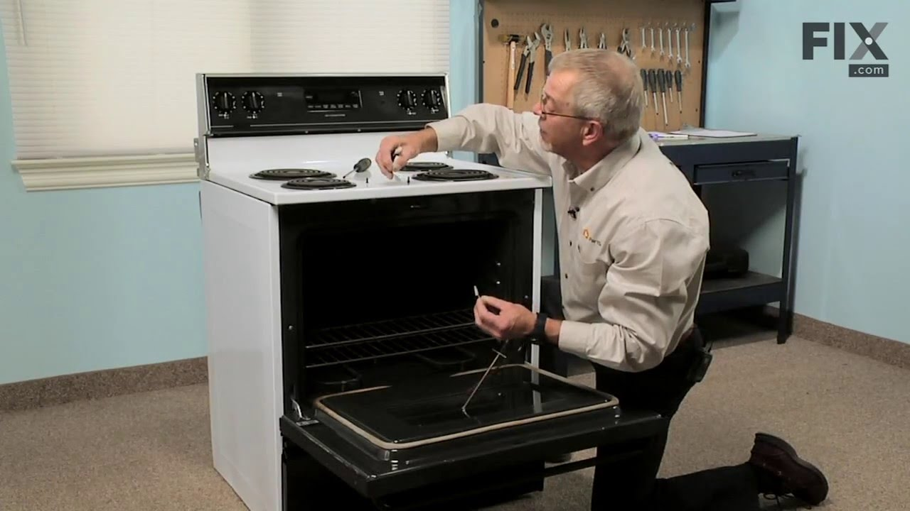 Replacing your Maytag Range Long Oven Sensor