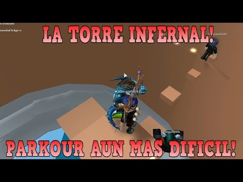 LA TORRE INFERNAL SEGUNDO INTENTO!, PARKOUR AUN MAS DIFICIL! | Roblox: Tower of Hell Español