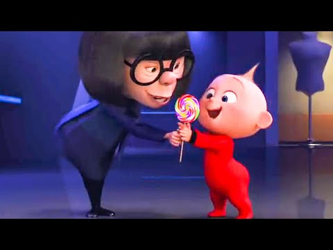 INCREDIBLES 2 - Auntie Edna and Baby Jack Jack Short Movie Clip (2018)