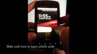 Unlock LG Optimus T P509 - How to Sim Unlock T-Mobile LG P509 Optimus T by Unlock Code