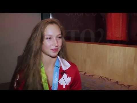 Pan Am Games: интервью с Патрицией Беззубенко