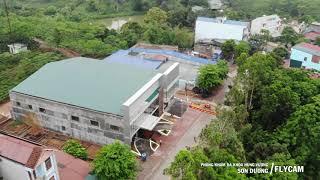 Flycam Phòng khám Đa khoa Hùng Vương - Sơn Dương