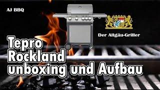 005   Tepro Rockland unboxing aufbau