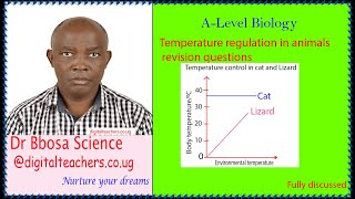temperature regulation in animals revision questions (A-level)