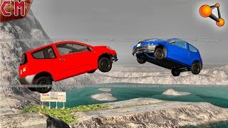 f3bd5e39b388 In Your FACE !!! Jumping cars into each other crashes (Crashes in the