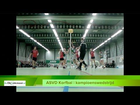 VIDEO | Alle 32 scores uit de kampioenswedstrijd van ASVD Korfbal op een rij
