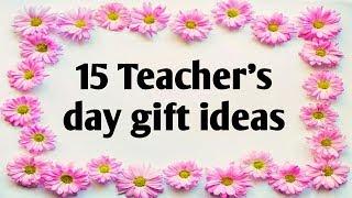 Teachers day gift ideas ll 15 awesome gift ideas for teachers