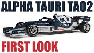 Alpha Tauri TA02 - FIRST LOOK