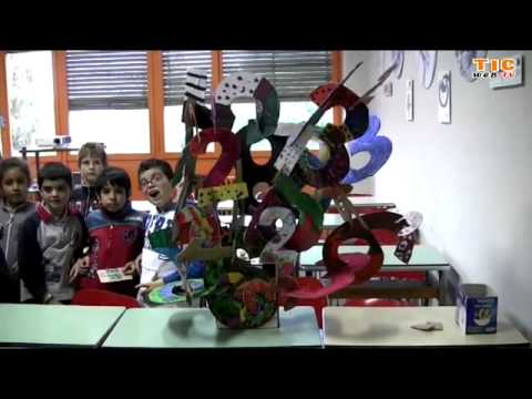 "Preview video Ivrea 2011, alunni scuola primaria in visita al museo ""Tecnologicamente"""