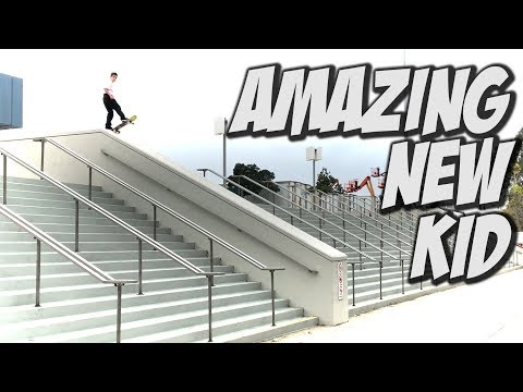 NEW AMAZING YOUNG SKATER DEVIN FLYNN !!! - NKA VIDS -